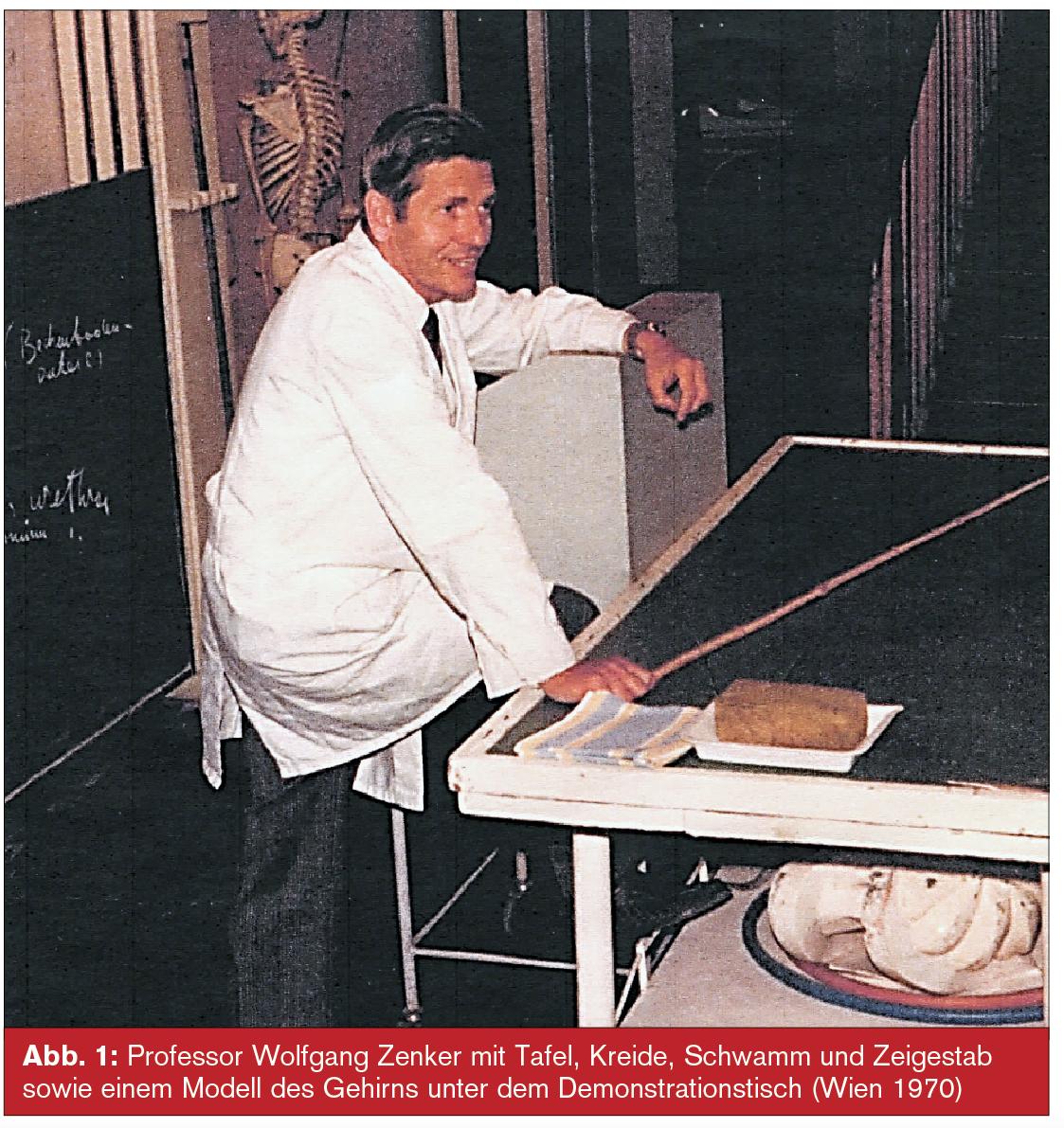 Zum 90. Geburtstag: Wolfgang Zenker, Lehrer der klassischen Anatomie ...