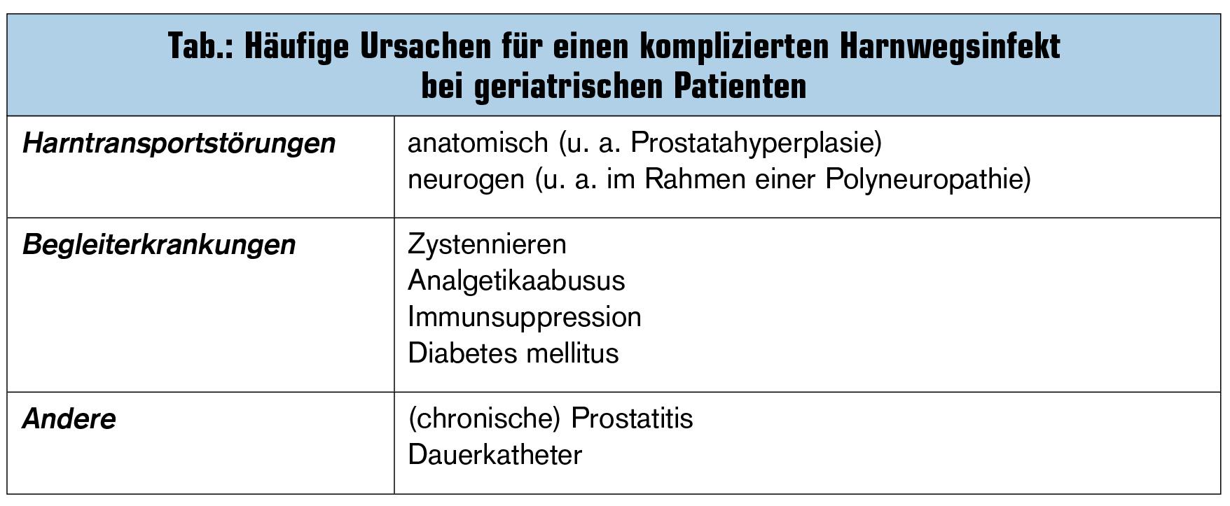 komplizierte harnwegsinfektion therapie
